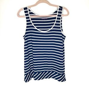 Vineyard vines nautical striped tank top
